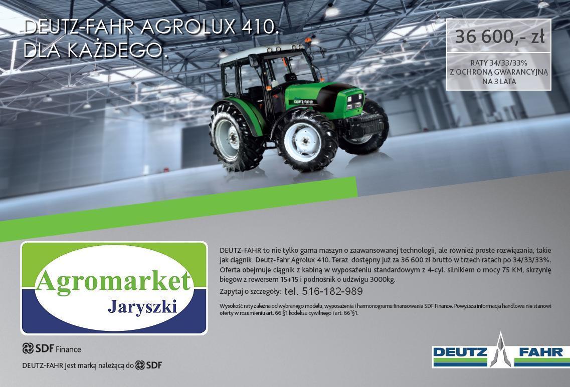 Promocja Agrolux 410