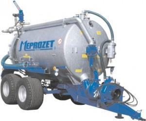 MEPROZET Specjalne 6000 l – 14000 l z działkiem wodnym