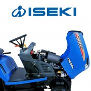 iseki-sxg216-compact-commercial-ride-on-lawnmowers-engine-compartment