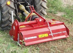 Brony rotacyjne HOWARD Rotavator R200/300/400