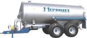 Wóz asenizacyjny przystosowany do gęstej gnojowicy