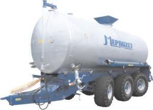 wóz asenizacyjny nalewowy z hydrauliczną pompą wirnikową