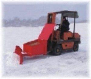 pług śnieżny do wózków widłowych