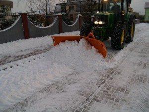 Pług śnieżny PSV