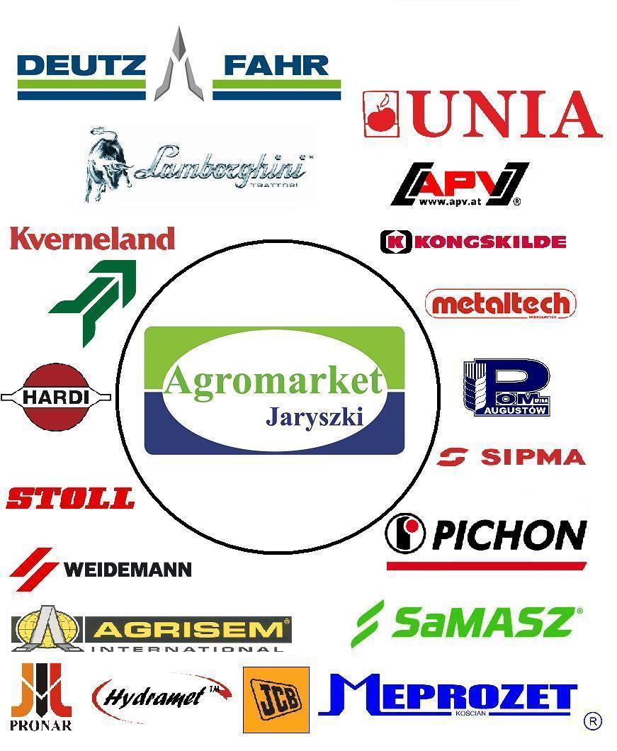 loga producentów maszyn i kombajnów rolniczych