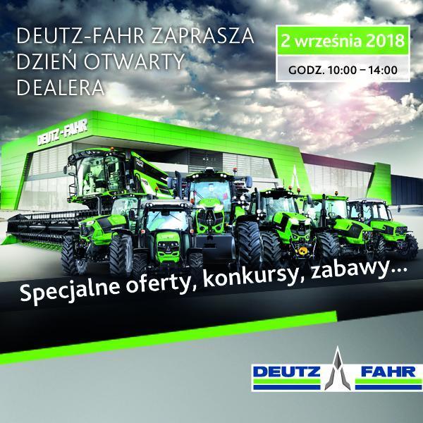 zaproszenie dzień otwarty Deutz-Fahr
