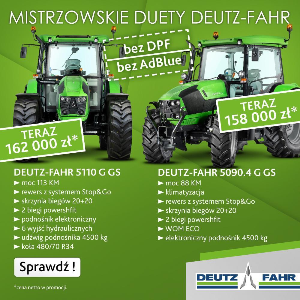 Deutz-Fahr mistrzowskie duety