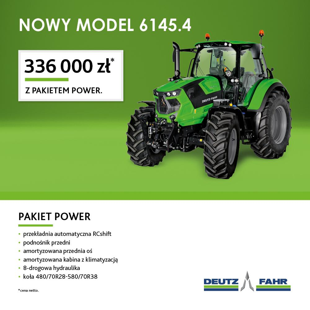 NOWY MODEL DEUTZ-FAHR'a 6145.4