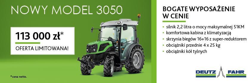 nowy model 3050 Detuz-Fahr
