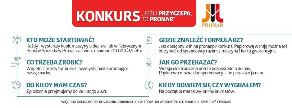 Konkurs PRONAR 2